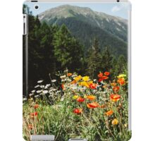 Mountain garden iPad Case/Skin