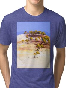 On the boundary Tri-blend T-Shirt