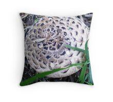 Fungi - under Nectarine Tree 2010 Throw Pillow