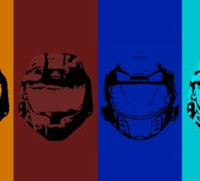 Red vs. Blue (group one) Sticker