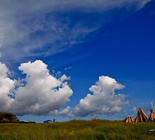 Clouds near Seseh Beach by I Nengah  Januartha