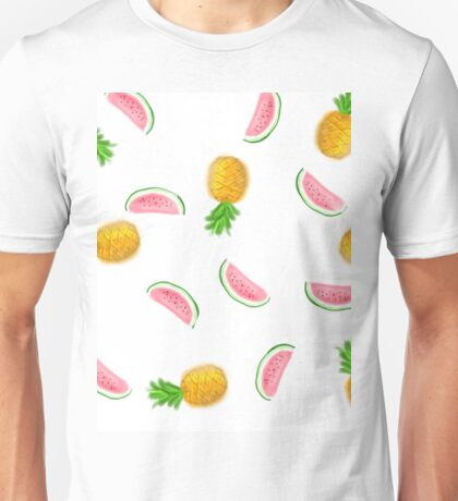 water melon and pineapple Unisex T-Shirt