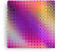 Hippie Pattern (purple) Canvas Print