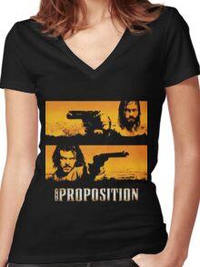 The Proposition - Charlie Burns & Arthur Burns Women's Fitted V-Neck T-Shirt