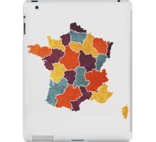 France colour region map iPad Case/Skin