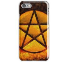 Satans Symbol by Sarah Kirk iPhone Case/Skin