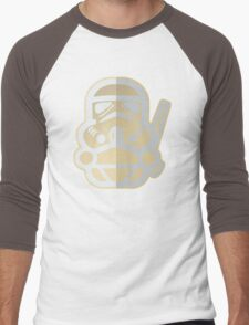 Cartoon Stormtrooper Star Wars Men's Baseball ¾ T-Shirt
