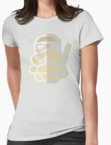 Cartoon Stormtrooper Star Wars Womens Fitted T-Shirt