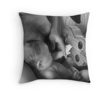 Daddy & Baby Kaydence Throw Pillow