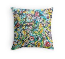 Shallow Waters III Throw Pillow