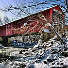 Red Covered Bridge by James Watkins