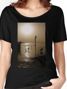 sunset delight Women's Relaxed Fit T-Shirt