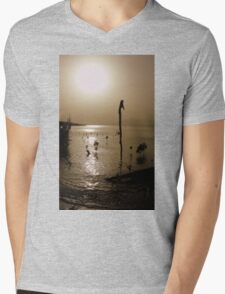 sunset delight Mens V-Neck T-Shirt