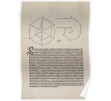 Measurement With Compass Line Leveling Albrecht Dürer or Durer 1525 0024 Spiral Poster