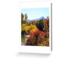 Fall Colors of Leavenworth Washington Greeting Card