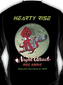Hearty Rise Night Attack By The Moon Light T-Shirt