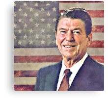 Patriot Ronald Reagan Canvas Print