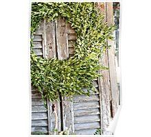 """Green wreath"" Poster"
