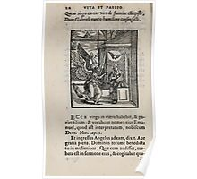 Contemplation Life and Passion Our Lord Jesus Christ Albrecht Durer 1557 0016 Poster