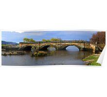 Ross Bridge panorama Poster