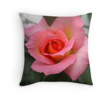 Hick Kicking Rose Throw Pillow