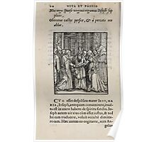 Contemplation Life and Passion Our Lord Jesus Christ Albrecht Durer 1557 0014 Poster