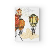 Royal Hot Air Balloon Race Hardcover Journal