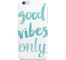 Good Vibes Sea iPhone Case/Skin