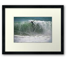 This Is How The Albatros Lands Framed Print