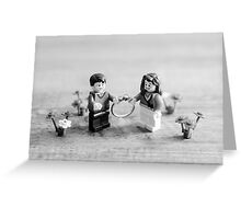 She Said Yes! (Black & White) Greeting Card