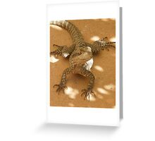 Wonderful Reptile Greeting Card