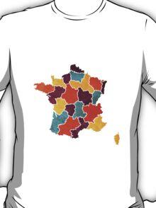 France colour region map T-Shirt