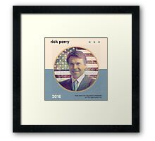 Rick Perry 2016 Framed Print