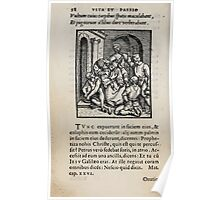 Contemplation Life and Passion Our Lord Jesus Christ Albrecht Durer 1557 0062 Poster