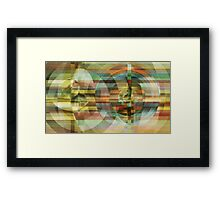 the echo of better days Framed Print