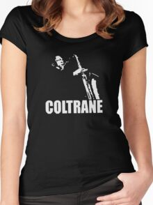 COLTRANE BLACK MENS Women's Fitted Scoop T-Shirt