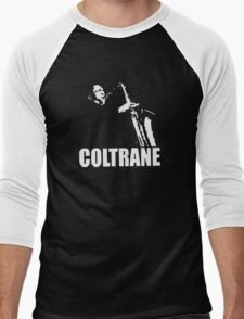 COLTRANE BLACK MENS Men's Baseball ¾ T-Shirt