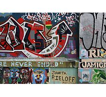 Graffiti - San Fran, California Photographic Print