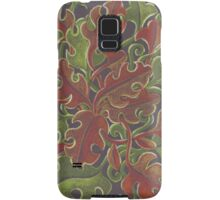 Oak leaves - Tataro pattern Samsung Galaxy Case/Skin