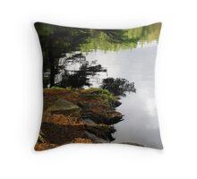 Reflections at High Dam Throw Pillow