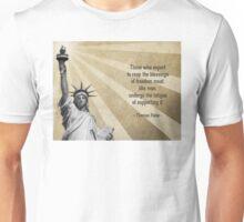 Thomas Paine Quote Unisex T-Shirt