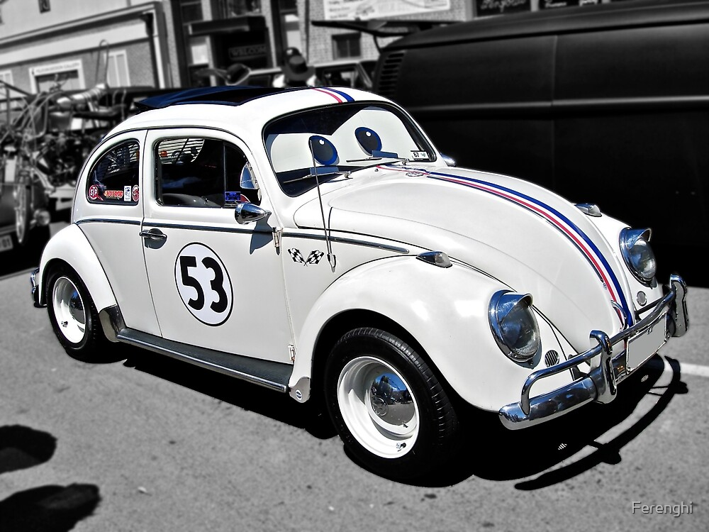 Herbie the Volkswagen (Replica) by Ferenghi
