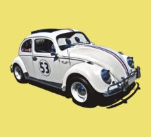 Herbie the Volkswagen (Replica) One Piece - Short Sleeve
