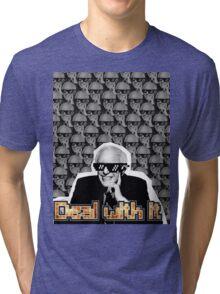 Bernie Sanders Says Deal With It Tri-blend T-Shirt