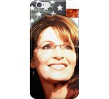 Sarah Palin Patriot iPhone Case/Skin