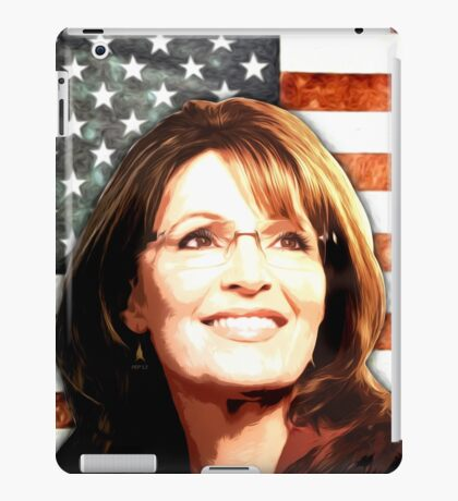 Sarah Palin Patriot iPad Case/Skin