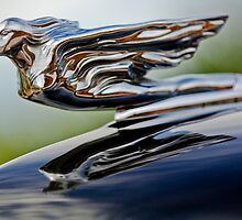 "1940 Cadillac ""Goddess"" Hood Ornament by Jill Reger"