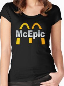 Mc Epic McDonalds Women's Fitted Scoop T-Shirt