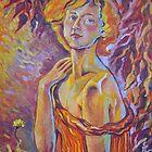 Dandelion- Self Portrait  by Paulina Kazarinov