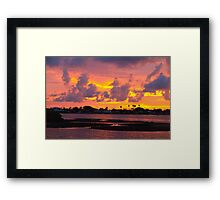Being there Framed Print
